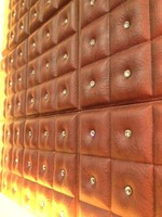 Leather Home Accessories wave textured wall panel New HOT products bring you new profit