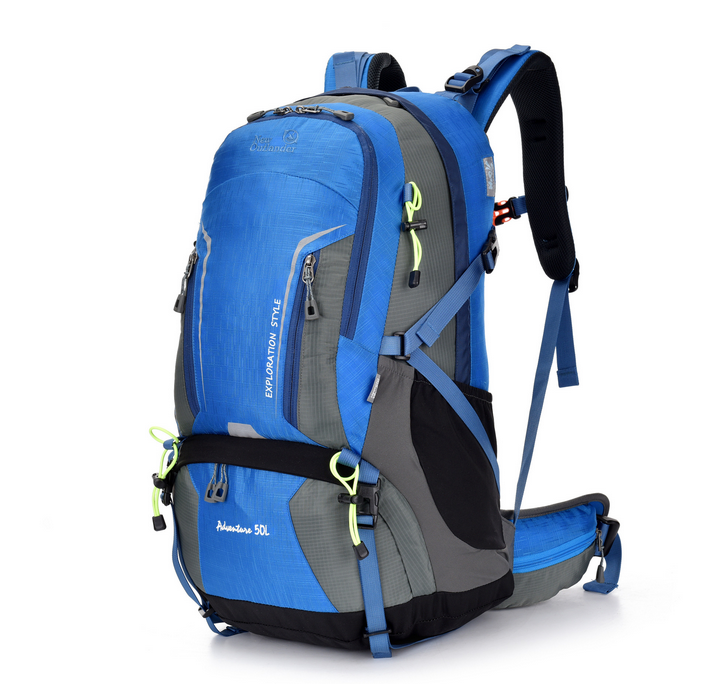 China promotional waterproof nylon material hiking backpack climbing backpack,sports bagpack