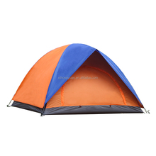 Customized double layer fast open pop up tent outdoor camping tent inflatable camping tent