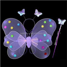 Cute little girls fairy wings angel wing for baby wholesale QFW-5088