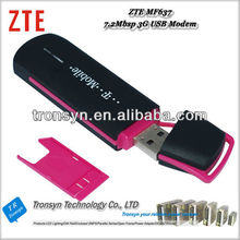 New Original Unlock ZTE MF637 HSDPA USB Modem 7.2Mbps 3G Data Card