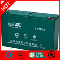 Hot! 36v golf cart battery 12v 6-DZM-35/CE UL ISO QS
