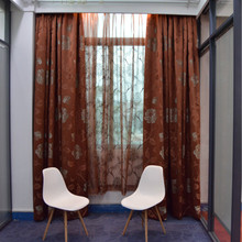Modern luxury design Curtains and Blinds Fabric Curtain Home Decoration Jacquard Curtains For The Living Room