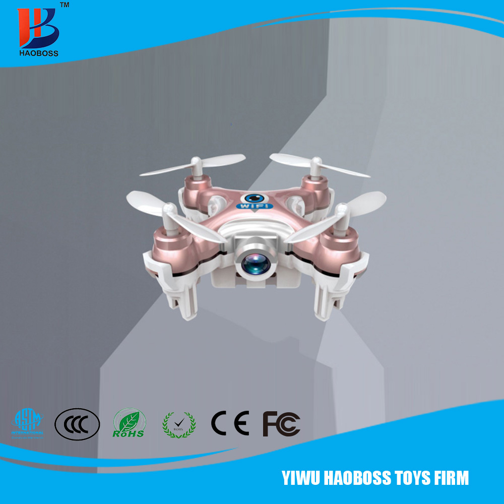 Cheerson CX-10W mini small WiFi Mobile Control Flying Camera 2.4G 4CH 6 Axis RC Quadcopter
