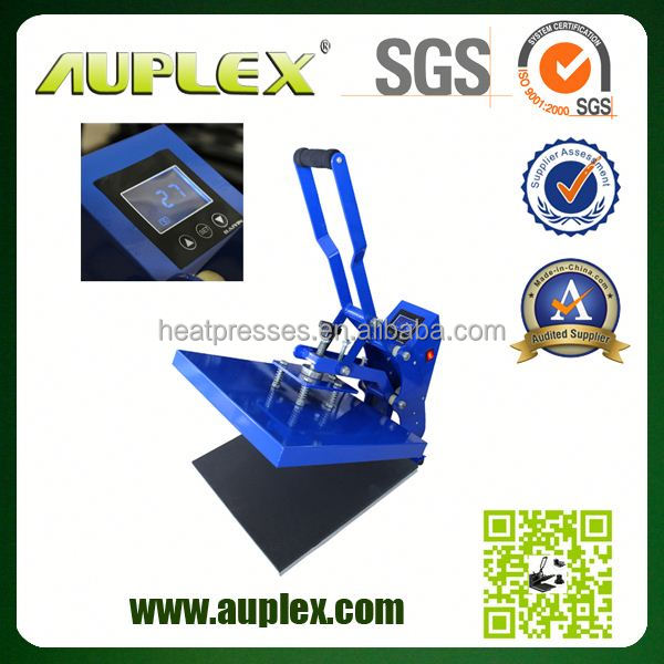 AUPLEX 2014 The Most Cost- Efficient LCD 8 in 1 sublimation printing press