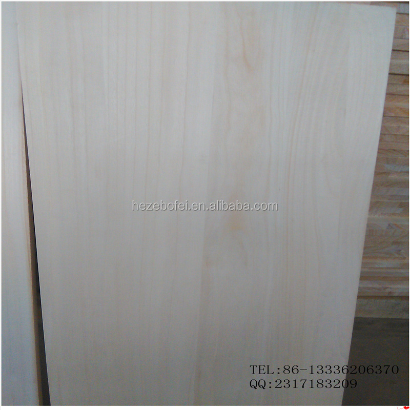 Paulownia kiri board/ paulownia finger jointed primed wood trim board