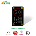 Radar Sign Detective Speed Warning Speed Measurement Display Traffic Flashing Speed Limit Signs