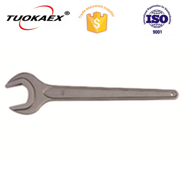 High quality steel #45 single open end wrench
