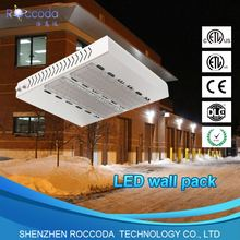 Roccoda DLC UL CUL approval 150W led wall pack light 150w led outdoor wall light hotel light
