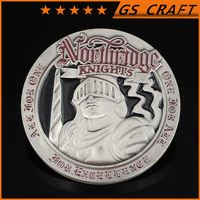 Metal Custom Made New Product antique silver coins