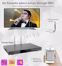 Professional Home KTV Jukebox Karaoke Player With Vietnamese Chinese English Songs Cloud,Support H.265 Video,Bulid In AGC/AVC