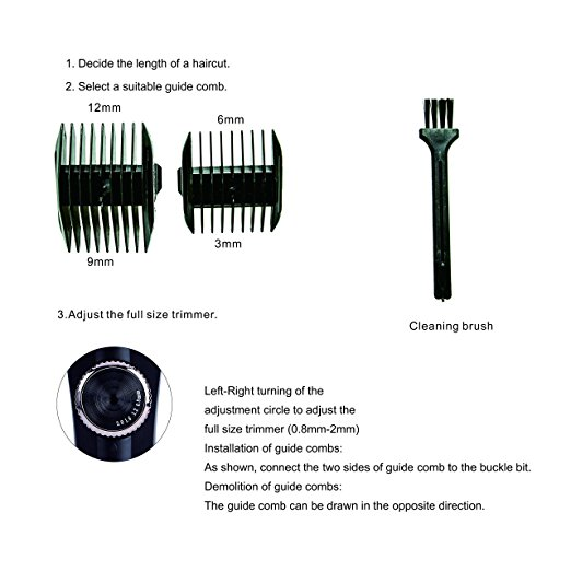 2018 HOT China Professional Electric hair clippers trimmer barber equipment wholesale barber supplies