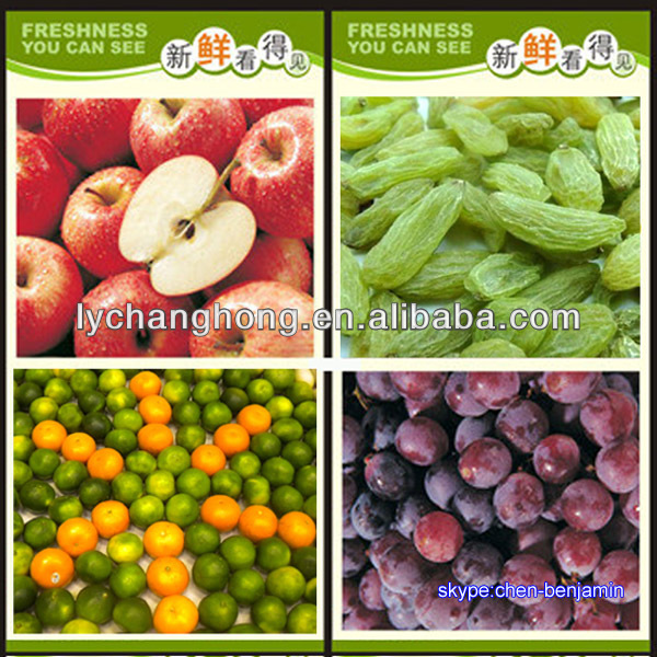 Name of imported fruits from China