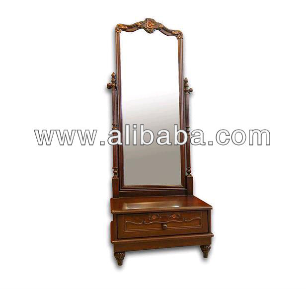 Simple Bedroom Dressing Table teak wood bedroom dressing table (no.9) ( size 42 x 65 x 170