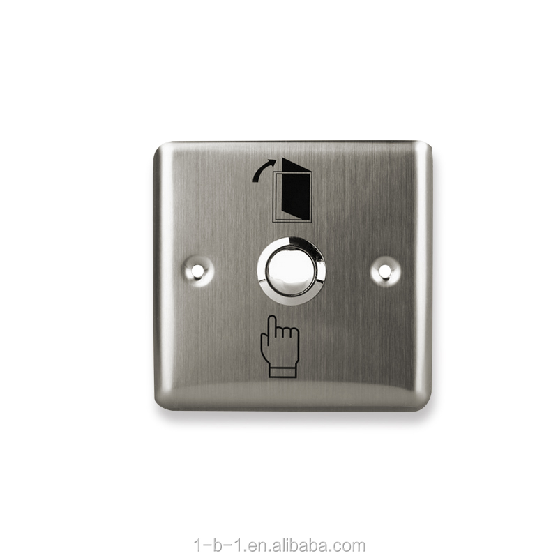Free shipping high quality stainless <strong>steel</strong> door exit button release switch push to open the door for access control system-<strong>L1</strong>