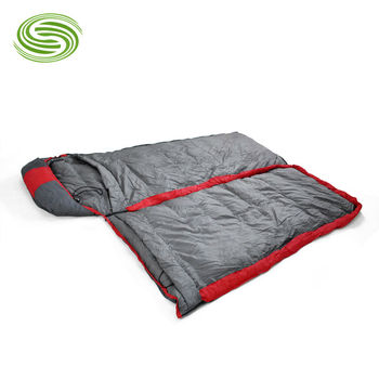 Wholesale or Retail Evelope Feather Sleeping Bags Outdoor 1800G Duck Down Winter Sleeping Bags Three-sided Zipper Sleeping bag