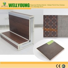 Modern design fireproof and waterproof decorative interior wall panel for prefab house