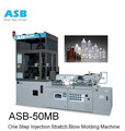 ASB - 50MB ISBM machine for production of Cosmetic Jar bottle