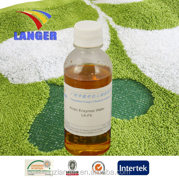China Supplier Acidic Enzymes Water Polished For Garment washing process LA-F8D
