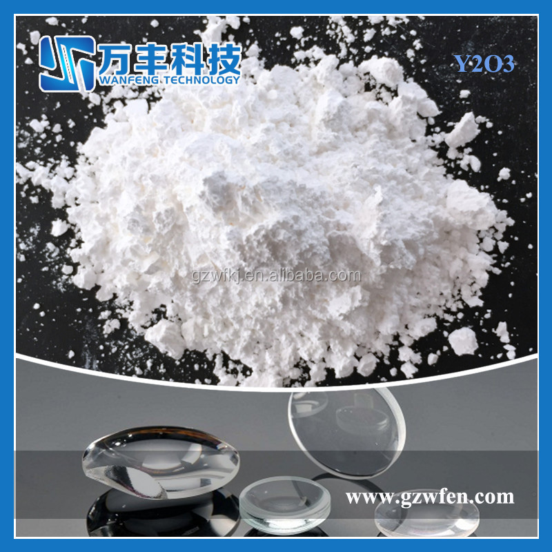 Prices of Yttrium Oxide White Powder Y2O3 for Optical Glass Use