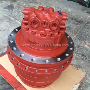 Case cx210 kra1426 travel motor cx210b kra10120 excavator for Hydraulic track drive motor