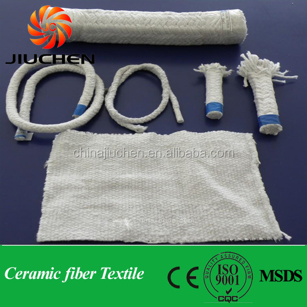 1260 New fabric woven bag packaged ceramic fiber cloth