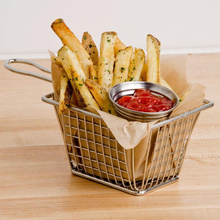 Mini Stainless Steel Wire Mesh Deep Fat Fryer French Fries Holder Basket Factory Made
