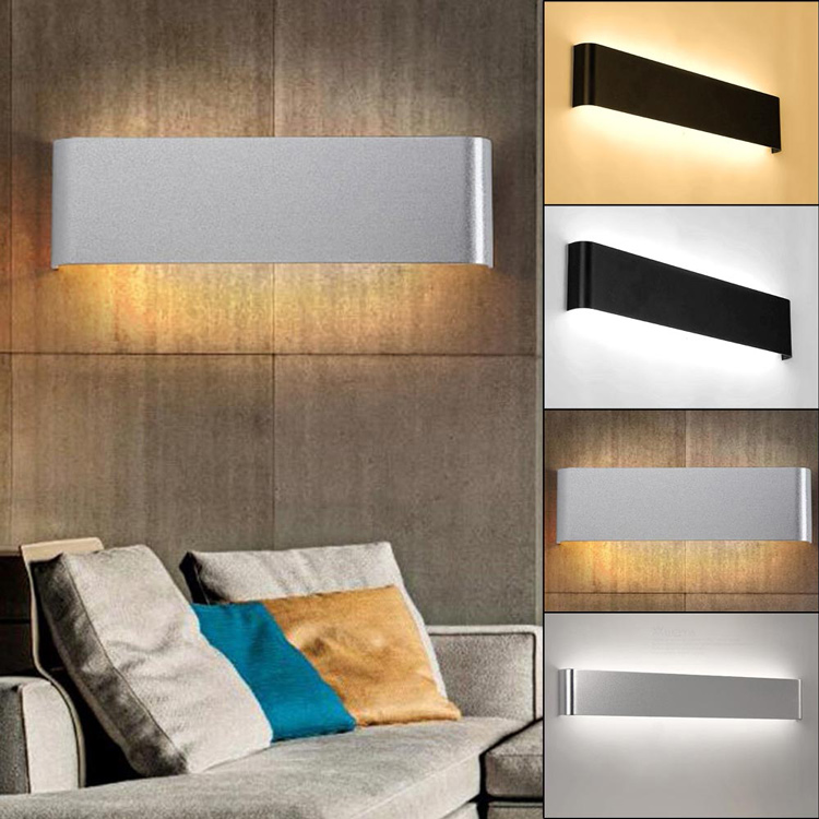 New Designed indoor lights from ZhongShan Modern Creative Simple Style Metal Black Color Wall Lamp