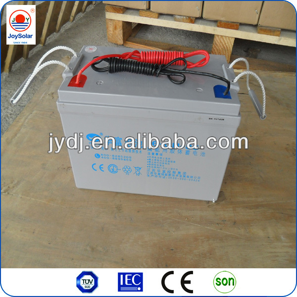 solar battery for solar street light, deep charge, free maintance