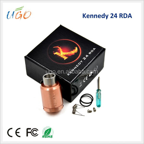 2016 Best Selling Products Kennedy 24 RDA 1:1 Clone Singapore With All Mods
