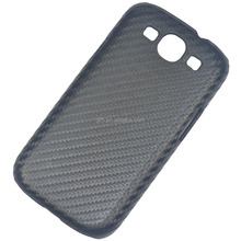 carbon fiber hard plastic back case for Samsung Galaxy S3 i9300