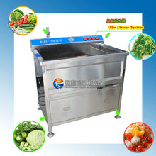 High Quality Home Commercial Stainless Steel 304 Industrial Fruit Ozone Water Bubble Leafy leafy vegetable washing machine