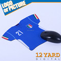 promotion custom logo Italy team Inspirational gaming jersey mousepad
