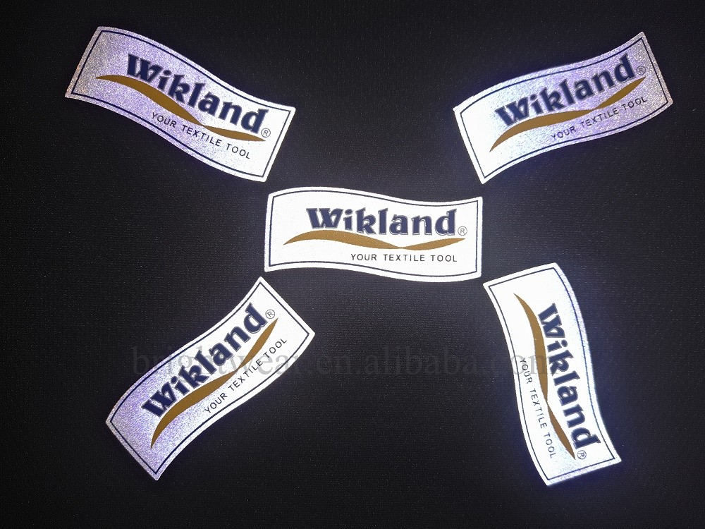 Reflective logo can be customized
