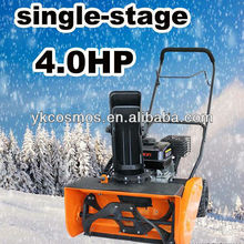 Single stage snow blower 4HP