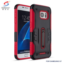 Shockproof kickstand mobile phone back cover case for samsung galaxy s7 s7 edge
