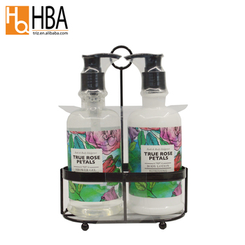 iron caddy gift package basic cleaning skin care bath sets