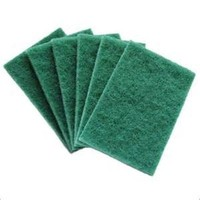 kitchen non-abrasive scouring pad yarn for scouring pad