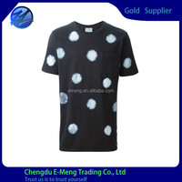 New Crew Neck Wholesale Bulk T-shirt Men with Pattern