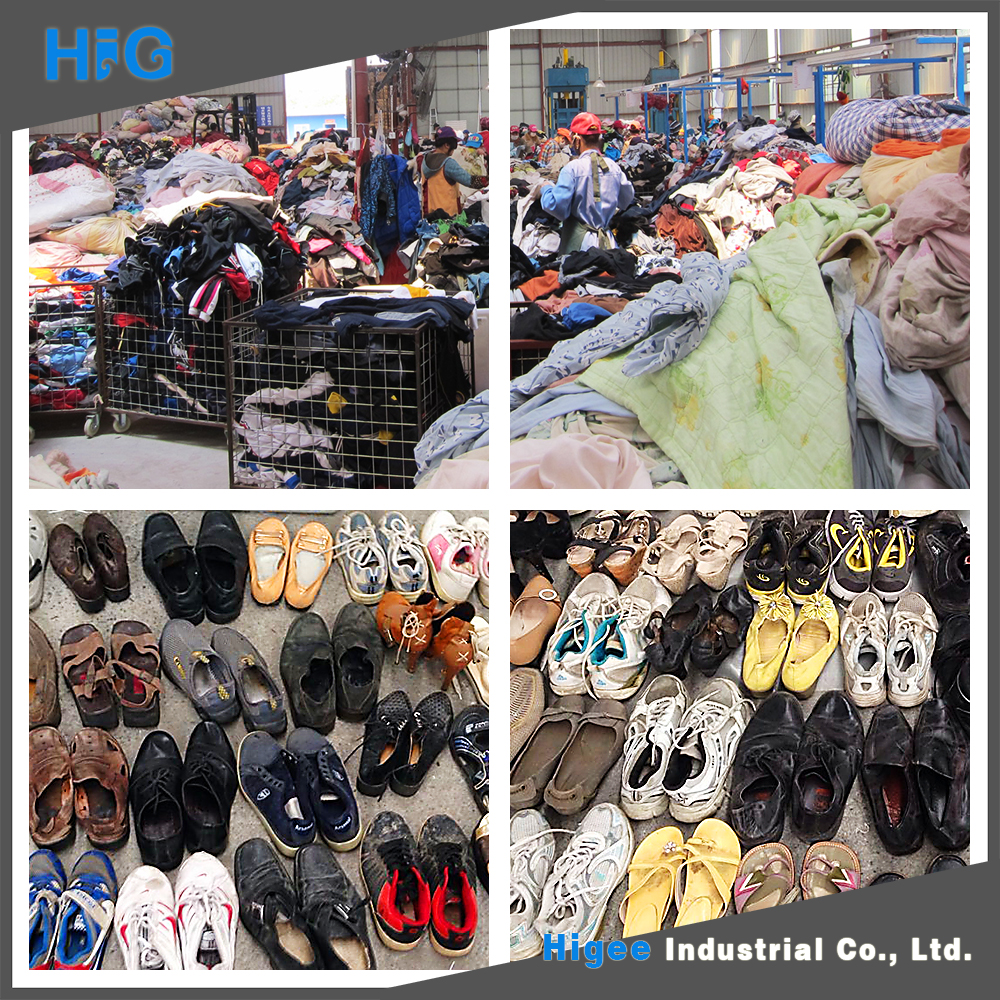 Popular Style used clothing/shoes export companies in germany from China famous supplier