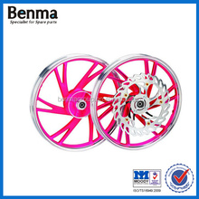 Factory direct sell colored chrome motorcycle wheel rims