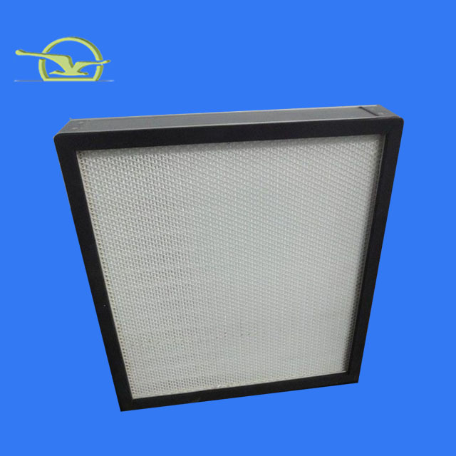 Hepa and many pleats paper frame air filter