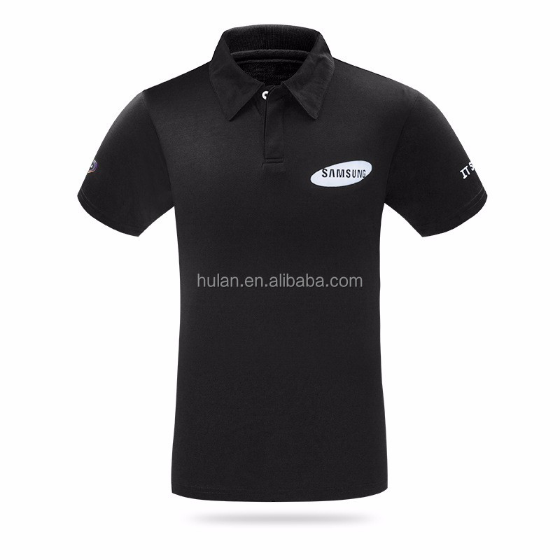 Cheap unisex various plain color with custom logo polo shirt