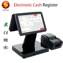 Factory price Cashcow touch screen electronic pos cash register