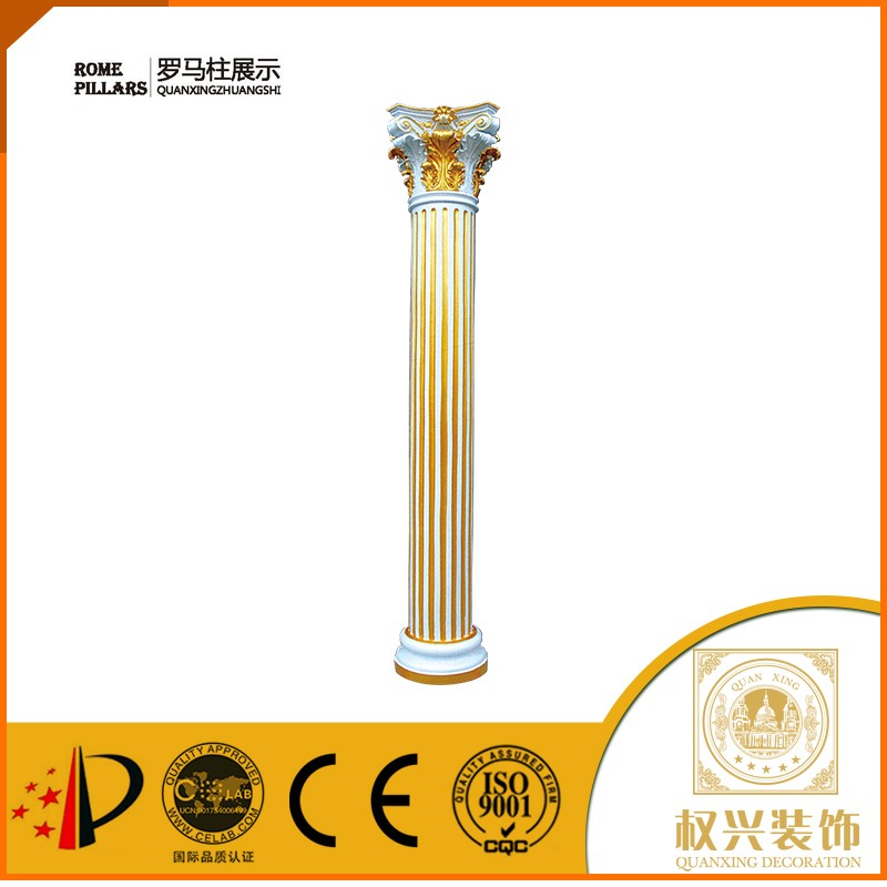 plastic roman crystal wedding aisle pillar for weddings decorfor villa