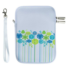 Portable Neoprene Zipper Carrying Sleeve Case Bag for Samsung Galaxy iPad mini