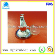 Strong suction power/Elegant decorative cap/rubber/Silicone Sucker for Light Fixture Seals/bathroom equipment and accessory/toys