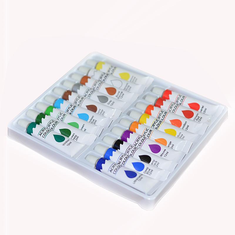 Акриловые краски для рисования на ногтях по привлекательным ценам в гипермаркете косметики maknails.