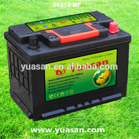 Yuasan Super SLI Lead Acid Starting Battery MF 12V 62AH Auto Battery - 56318MF