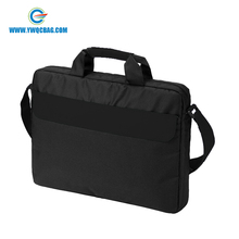 "Polyester messager shoulder cheap price 15.6"" laptop bag"